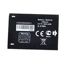 Alcatel OT-600A OT-383A OT-206 OT-355D 650mAh Battery-CAB30M0000C1