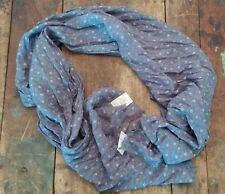 Ralph Lauren Scarf NEW Desert Blue Floral Cotton