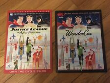 Darwyn Cooke Justice League the New Frontier Rare Promo Print Wondercon Program