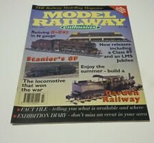More details for model railway enthusiast july 1994 d-day n gauge stanier 8f garden