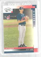 2003 Leaf Cliff Lee Rookie Cleveland Indians #274 Trading Card Baseball