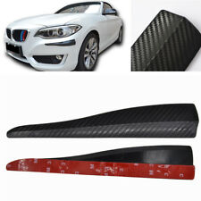 Auto Car Bumper Protector Corner Guard Carbon Fiber Look Anti-scratch 283MM 2Pcs