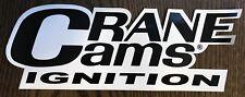 Crane Cams Ignition Decal Sticker NHRA NASCAR Vintage Racing Stickers