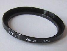 49mm-S7 SER7 Vii Metal Adapter Stepping Ring 49mm Lens to SER 7 Japan U&S Series