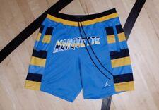 87fa7477f24f02 JORDAN X JUST DON COLLEGIATE SHORTS Marquette University Blue Size L Large