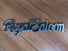 1966 Imperial Name NOS MoPar Trunk EMBLEM LeBaron Crown