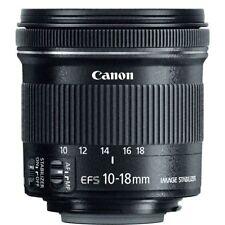Canon EF-S 10-18mm f/4.5-5.6 IS STM Lens for DSLR Camera Bodies