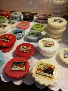 Yankee Candle TARTS WAX MELTS -- build a box of 10