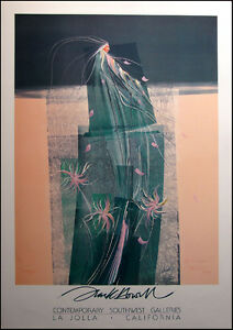 "Frank Howell Poster ""April's Song"" Art  Offset Lithograph Make an Offer"