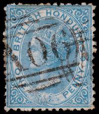 British Honduras Scott 4 (1872) Used F-VF, CV $30.00 M