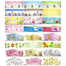 Unbranded 100% Cotton Cot Bumpers