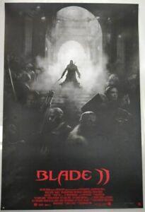 Max Fitzgerald - Blade 2 Silkscreen Mondo Print 24 x 36 Inches