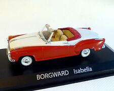 1/43 NOREV Borgward Isabella Cabriolet Rot/weiss 820006