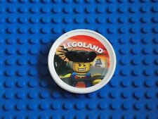Lego-Pop badge (Capitaine Pirate-blanc)