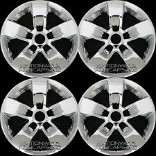"4 CHROME 2013-2017 Dodge Ram 1500 17"" Wheel Skins Hub Caps Rim Covers Simulators"