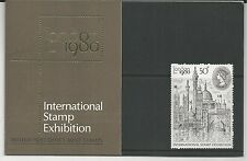 Great Britain # 909 British Post Office Mint Stamps-1980 Intnl. Stamp Exposition