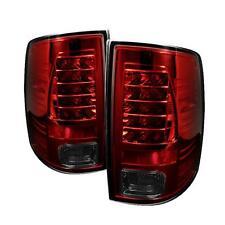 Pair Tail Lights Dodge Ram 1500 2009-2012 Ram 2500 3500 2010-2012 LED Red Smoke