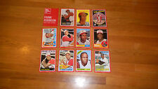 2015 Topps Frank Robinson Cardboard Icons 5x7 Red Edition Set xx/10 MINT