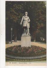Rouen Statue De Rollon France [LL 56] Vintage Postcard 299b