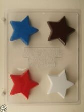 STAR CLEAR PLASTIC CHOCOLATE CANDY MOLD LCA008