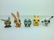 Littlest Pet Shop LPS - Bunny Rabbit Lot A (5 LOTS SHIP FOR PRICE OF 1)