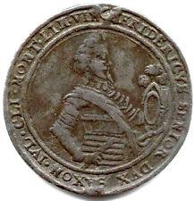 "Sachsen-Weimar, Friedrich, ""Zinnabschlag"" v. 1/2 Taler 1622 a. s. Tod"