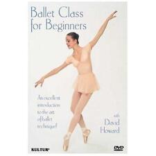 Ballet Class for Beginners (David Howard Allison Potter) New DVD Region 4