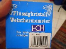 Flüssigkristall Weinthermometer