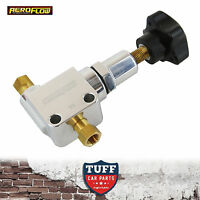 Aeroflow Polished Adjustable Bias Brake Proportioning Valve AF64-3042 New