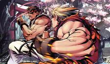 266 Street Fighter PLAYMAT CUSTOM PLAY MAT ANIME PLAYMAT FREE SHIPPING