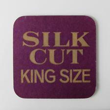 Silk Cut, King Size - Vintage Beermat Coaster