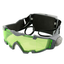 LED Night Vision Goggles Eye shield Green Lens eye protector view Glasses