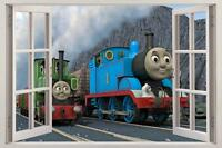 THOMAS THE TANK U0026 FRIENDS 3D Window View Decal WALL STICKER Decor Art Mural  H316 Part 74