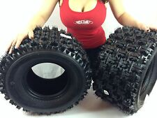 New Pair of QuadBoss QBT739 (4ply) ATV Tires [20x11-9] (2)