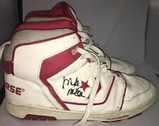 Vintage Converse Basketball Shoes Men's Size 13 Mike McGee Autograph Nets Red