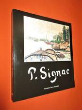 PAUL SIGNAC.- catalogue d'exposition illustré