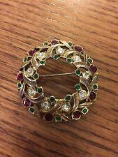 vintage eisenberg jewelry Brooch Christmas