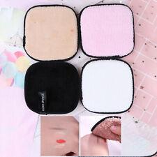Microfiber Cloth Pads Makeup Remover Puff Towel Reusable Face Cleansing,