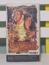 Cutthroat Island Vhs Video 1995 Roadshow Entertainment