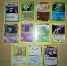 Lot 23 cartes pokemon rare, reverses, ed 1 ,bloc wizards, bon état.