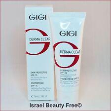 Gigi Derma Clear Skin Protective SPF-15 Moisturizing cream 75 ml