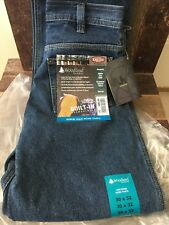 Woodland Workwear Flame Resistant Denim Jean Pant 12 oz Built in Knee Pads 30x32