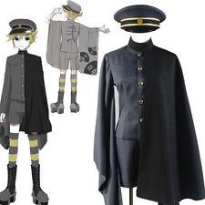 Vocaloid Senbonzakura Kagamine Len Uniform Suit Kimono Cosplay CostumesS-XXL