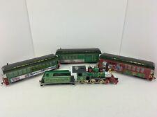 Hawthorne Village Thomas Kinkade Christmas Express Bachmann On30 Train Set Nice!