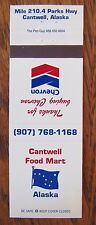 CHEVRON GAS STATION: CANTWELL FOOD MART (CANTWELL, ALASKA) -S29