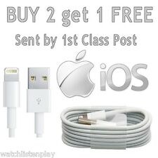Charging lead USB Data sync Charger cable for iPhone 7 6 5 iPod Touch iPad 4mini