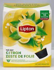 NEW 1 X Box Nescafe Dolce Gusto Lipton Citrus Tea - Lemon Green 12 Capsules Gift