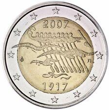 Finnland 2 Euro 2007 Unabhängigkeit von Russland Gedenkmünze bankfrisch