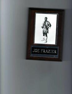 JOE FRAZIER PLAQUE BOXING CHAMPION