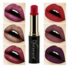 24 Colors Long Lasting Lipstick NICEFACE Matte Metal 3.5g Color Lipstick Y2Z7